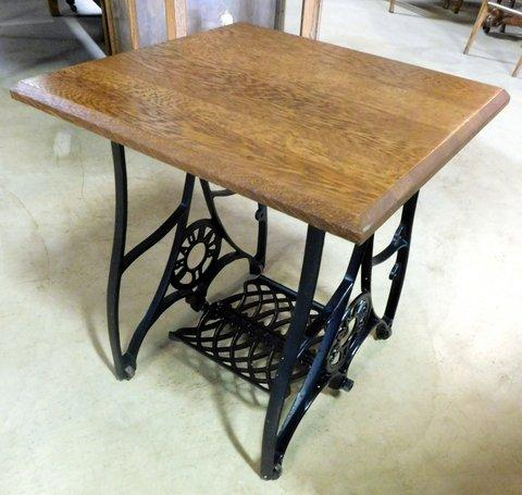 Smith's Antiques D40 Repurposed Sewing Machine Stand Smith's Impressive Sewing Machine Stands